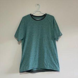 Lululemon Teal T-Shirt
